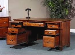 executive desk with file drawers arlington executive desk from dutchcafters amish furniture new