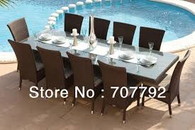 10 Chair Dining Table Set 2017 Rattan Outdoor Furniture Cheap Dining Collection Dining Table
