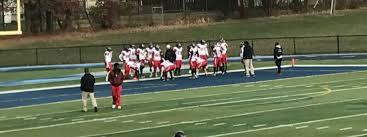 football thanksgiving day rahway indians edge johnson crusaders varsity football in