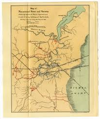 Yellow River Map Map Of Nansemond River And Vicinity The Portal To Texas History