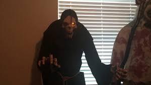 lil nester spirit halloween costco halloween 2016 lunging reaper youtube