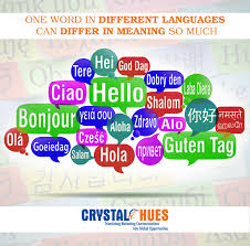 same words different meanings crystal hues limited advertising services translation services