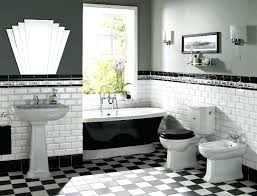 vintage black and white bathroom ideas black and white bathrooms image of vintage black and white