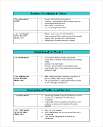 Business Template Plan by Sle Professional Business Plan 6 Documents In Pdf