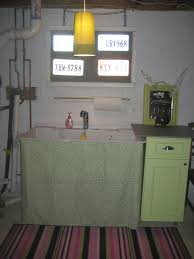 how to install utility sink in laundry room best laundry room