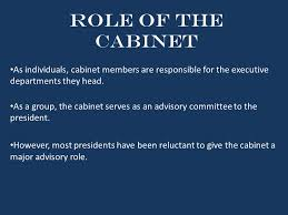 The Cabinet Members The 15 Individuals Who Advise The President Ppt Download
