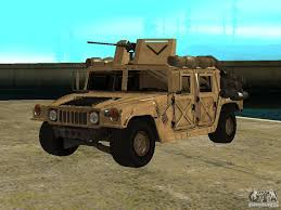 military hummer h1 hummer h1 hmmwv with mounted cal 50 for gta san andreas