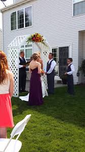how to officiate a wedding my time officiating a wedding