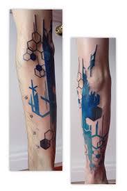organic geometry architecture tattoo tattoomagz