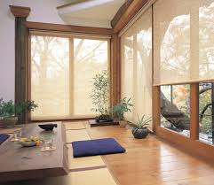 roller blinds modern sunroom brisbane by veneta blinds