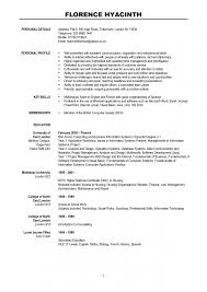 Resume Sample With Picture by Word Resume Templates Mac
