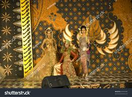 jakarta june 19 fashion show indonesian stock photo 55754350