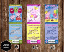 novel concept designs peppa pig birthday invitations and thank
