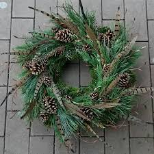 Christmas Wreath Decorations Wholesale Uk by Get 20 Feather Wreath Ideas On Pinterest Without Signing Up