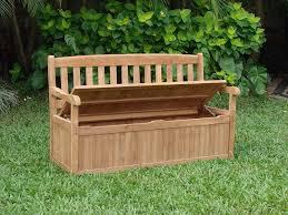 Build A Storage Bench How To Build A Garden Storage Bench Ebay
