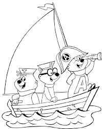 kids fun 26 coloring pages alvin chipmunks