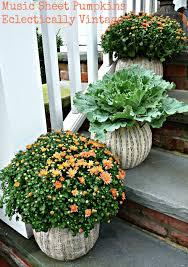 fall porch u0026 diy pumpkin topiaries kelly elko