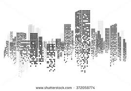 And City Free Construction Background Vector Free Vector