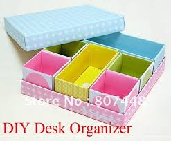 Paper Desk Organizer Diy Desk Organizer Paper Box Set Storage Projects Try Pint Dma