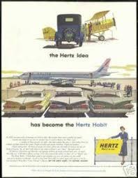 Hertz Car Rental Fort Lauderdale Cruise Port 1960 Hertz Rent A Car Advertisement Photo Picture Vintage Ads