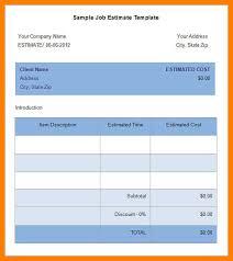 12 estimate templates delivery challan