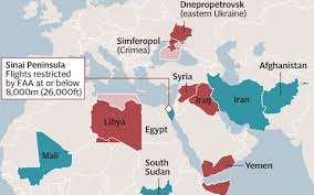 where is yemen on the map no fly zones where your airline cannot go telegraph