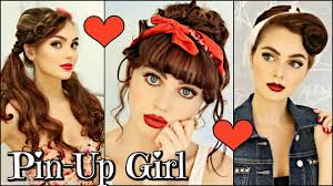 www hairstyle pin 3 vintage retro pin up girl hairstyles 1940 50 s youtube