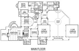 turret house plans mediterranean style house plan 5 beds 7 50 baths 8756 sq ft plan