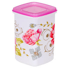 Pink Kitchen Canisters 40 Pcs Storage Set By Nayasa Plastic Containers Homeshop18