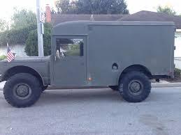 custom kaiser jeep 1968 m725 kaiser jeep military ambulance for sale