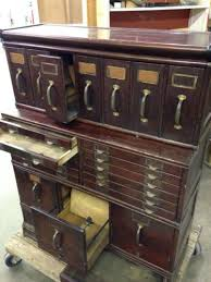 Mahogany Office Furniture by Antique Mahogany Office Filing Chest Furniture Globe Wernicke Comp