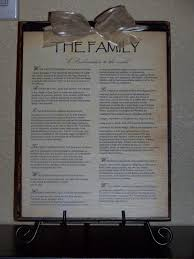 family proclamation the family proclamation a heart