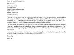 sample cover letter for office clerk box office clerk cover