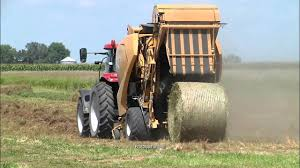 continuous round baling technology from vermeer and lely youtube