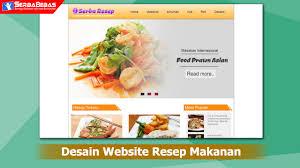 tutorial membuat web html sederhana cara membuat desain website resep masakan menggunakan bahasa html