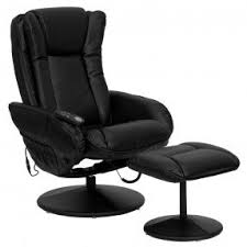 Armchair Ottoman Set Leather Reclining Chair And Ottoman Foter