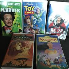 lot 5 disney vhs movies lion king 2 toy story pocahontas flubber