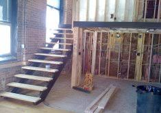 steel stair treads and risers precast concrete open riser stair