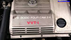 toyota 1mz fe engine view youtube