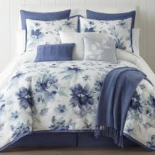 Jcpenney Bed Set Home Expressions 10 Pc Floral Comforter Set Jcpenney