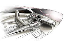 Interior Design Sketches by Mercedes Benz Concept A Class Interior Design Sketch Sketch