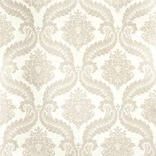 Laura Ashley Home by Patterend Wallpaper Plume White Patterned Wallpaper At Laura