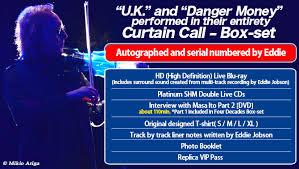 Curtain Call Tracklist ワードレコーズ ダイレクト Eddie Jobson Curtain Call U0027u K