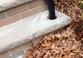 limestone step tread repair concrete stone u0026 masonry diy