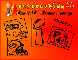 bold bossy football helmet coloring pages