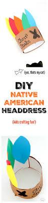 chief headdress diy thanksgiving american headband momdot