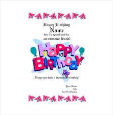 sample birthday gift certificate template 21 birthday