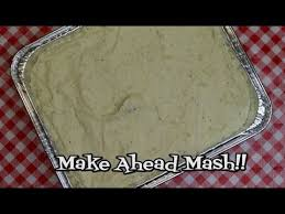 make ahead mashed potatoes make ahead thanksgiving