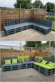 Patio Furniture Out Of Pallets - 539 best pallet outdoor furniture images on pinterest pallet