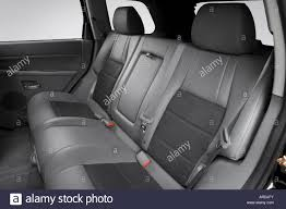 2006 jeep grand cherokee srt8 in black rear seats stock photo